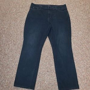 Not Your Daughter's Jeans Size 16 Marilyn Straight